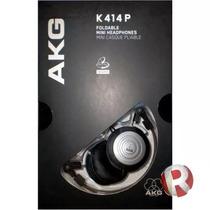 Fone De Ouvido Com Bolsa K414 Akg Original P R O M O Ç Â O