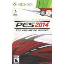 Manual De Instrucoes Pes 2014 Xbox 360 /original/completo