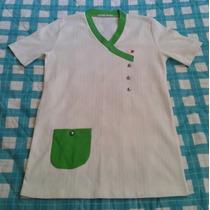 Camisa Blanca De Uniforme Para Médico O Enfermera Talla S