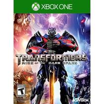 Jogo Novo Transformers Rise Of The Dark Spark Para Xbox One