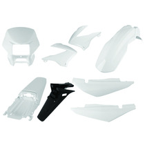 Carenagem Bros 125 Branco 2003/2004/2005 Kit Completo