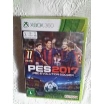Pes 2017 Xbox 360 Original Novo Na Caixa Lacrada Lançamento