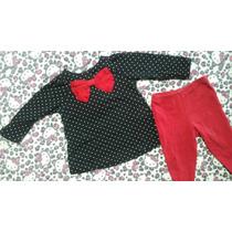 Conjunto Carters 6 Meses Blusa + Pantalon Impecable