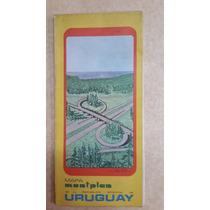 3 Mapas De Uruguay Y Montevideo, De Los 70
