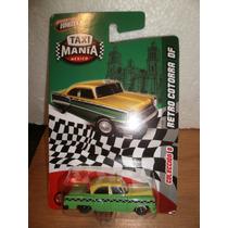 Taxi Mania Retro Cotorra Df Verde/amarillo