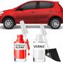 Tinta Tira Risco Automotivo Fiat Novo Palio Vermelho Alpine