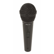 Microfone De Mão Peavey / Pv-7 Microfone Com Cabo P10 - Xlr