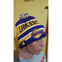 Gorros De Lana Importados Original Lakers Nba