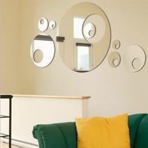 Espelho Bolas Decorativas Sala Jantar Acrílico Quarto