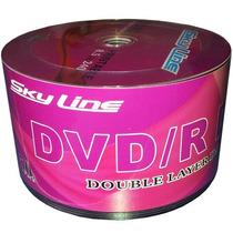 50 Dvd+r Dl Dual Layer 8.5 Gb Skyline Printable Id: Umedisc