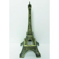 Torre Eiffel 8 Cm Metalica Replica Adorno Subte A Carabobo