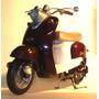Moto Yamaha Vino Yj50r Escala 1/6 Original Danielhds