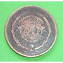 Antigua Moneda 40 Centavos De Cobre Uruguay 1857