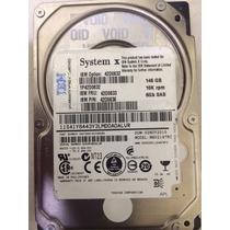 Placa Logica Hd Server Ibm 2.5 Sas 146gb 10k Ibm P/n 42d0636