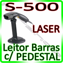 Leitor Código Barras Laser Bematech S-500 Usb - Com Pedestal