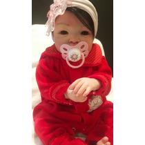 Bebe Reborn Boneca Safirah Detalhes Reais Frete Gratis