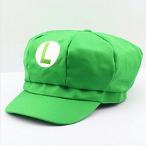 Luigi Gorra Fernanfloo Unisex De Calidad Super Mario Cosplay