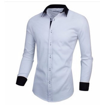 Camisa Social Estilo Executivo Slim Fit