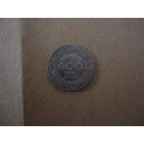 Moeda 400 Réis 1940 Getúlio Vargas - Mbc - Bela 10 Unidades