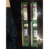 2 Pentes Memoria Kingston 4gb - Ddr3 1333mhz