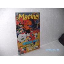 Hq-mangá Matinê Nº5 Ano 1 Dragon Ball Z Editora Jbc