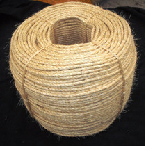 Corda Sisal Natural 6mm R$ 0,70 Centavos O Mt