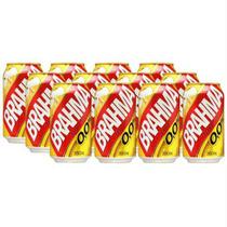 Cerveja Brahma Zero Álcool Pack Com 12 Latas De 350ml