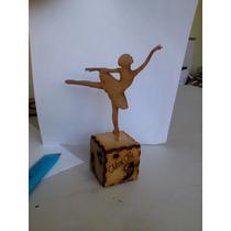 Bailarina Ballet Xvaños Invitacion Recuerdo Centro De Mesa