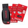 Pen Drive Sandisk 8 Gb Computador Notbook Fotos Musica Vidos