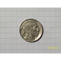 Estados Unidos 5 Centavos Bufalo 1936 Muy Linda