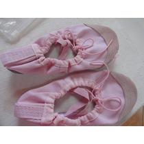 Zapatillas Ballet Rosadas Nro30 Importadas