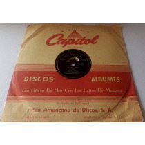 Los Dos Reales Con El Mariachi Vargas De Tecalitlan 78 Rpm