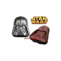 Molde Antiadherente Star Wars/ Darth Vader Torta Reposteria