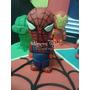 Avengers-vengadores- Hombre Araña- Adorno Torta- Porcel Fria