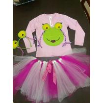 Disfraz De Sapo Pepa Para Nenas