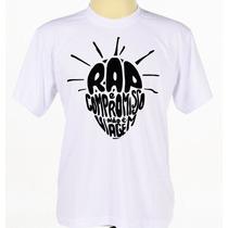 Camisa Camiseta Banda Grupo Hip Hop Rap Sabotage Manga Curta