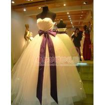 Vestido De Noiva Formal Importado Pronta Entrega No Brasil