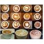 Kit Com 16 Stencil Para Café Desenhos Para Capuccino Molde