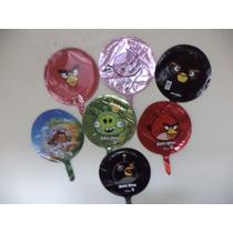 Angry Birds Globos Metalicos 10 Fiestas 9 Pulgadas Decorac