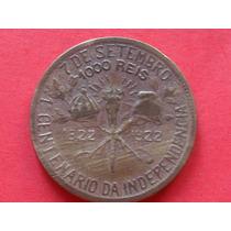 Moeda De 1.000 Réis De 1922 - Centenário Da Independência