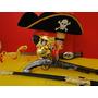 Jack Sparrow Arma Piratas Do Caribe Fantasia Com Cinturão