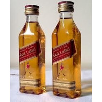 Miniatura Whisky Johnnie Walker Red Label - Mini Garrafa -