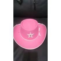 Sheriff Callie Sombrero Rosa Vaquerita Fiesta Niña Mayoreo