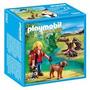 Playmobil 5562 Niño Explorador Con Perro