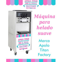 Maquina De Helados Suaves De Crema Y Yogurt