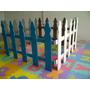 Cercas De Madera Ideal Para Guarderias, Preescolares Y Otro