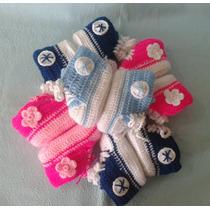 Converse Tejidos A Crochet Bebé Varón Niño Niña