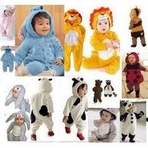 Fantasia Bichinhos Bebê Leão Tigre Macaco Pronta Entrega