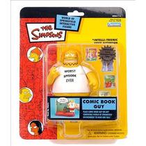 Simpsons Comic Book Guy S15 Figura Nueva Wos Playmates