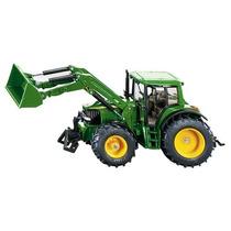 Toy Tractor Agricola - Siku John Deere W Cargador 1:32 Minia